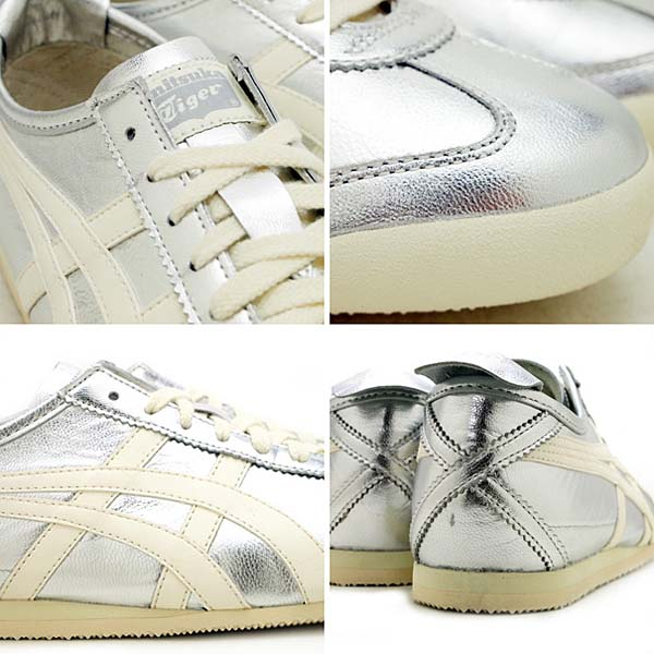Onitsuka tiger MEXICO 66 [SILVER/OFF WHITE] thl7c2-9399 写真2
