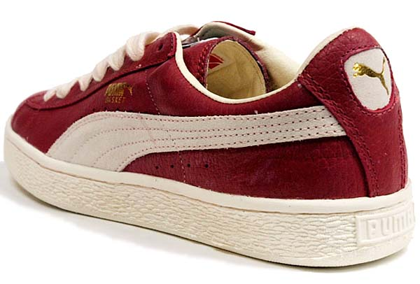 Puma BASKET CLASSIC [PEPPER/SNOW WHITE] 351912 画像1