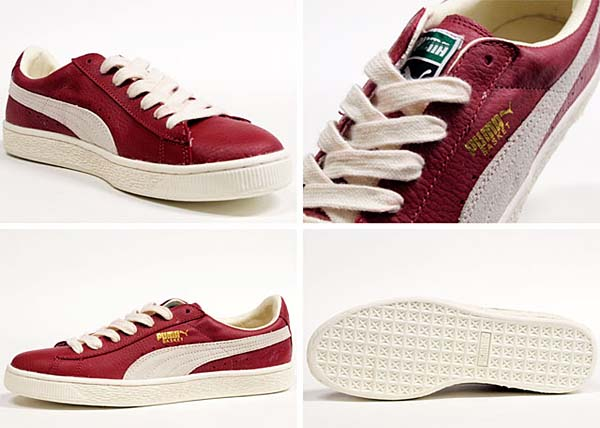 Puma BASKET CLASSIC [PEPPER/SNOW WHITE] 351912 画像2