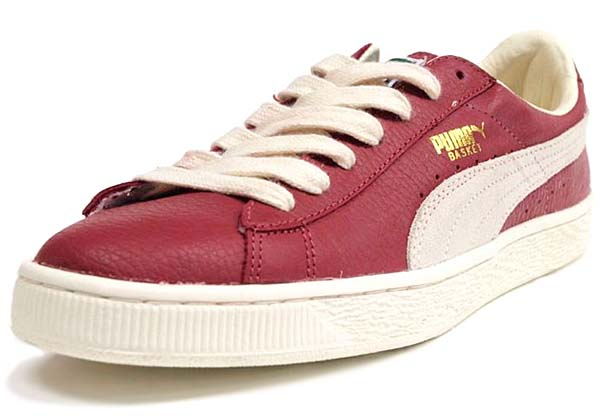 Puma BASKET CLASSIC [PEPPER/SNOW WHITE]