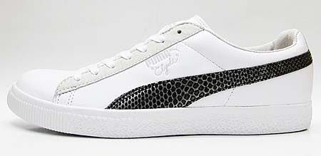 Puma CLYDE x UNDEFEATED SNAKESKIN [WHITE] 353917 画像1