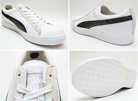 Puma CLYDE x UNDEFEATED SNAKESKIN [WHITE] 353917 画像2