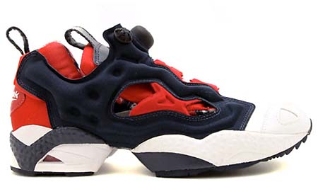 Reebok INSTA PUMP FURY OP [WHITE/RED/NAVY] J85357 写真1