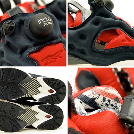Reebok INSTA PUMP FURY OP [WHITE/RED/NAVY] J85357 写真2