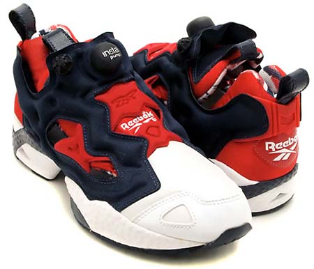 Reebok INSTA PUMP FURY OP [WHITE/RED/NAVY] J85357
