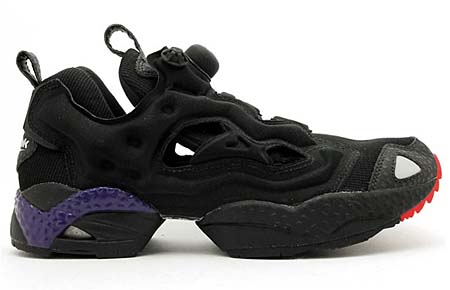 Reebok INSTA PUMP FURY [BLACK/RED/PURPLE] J94549 写真1