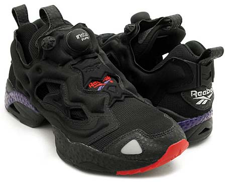 Reebok INSTA PUMP FURY [BLACK/RED/PURPLE] J94549