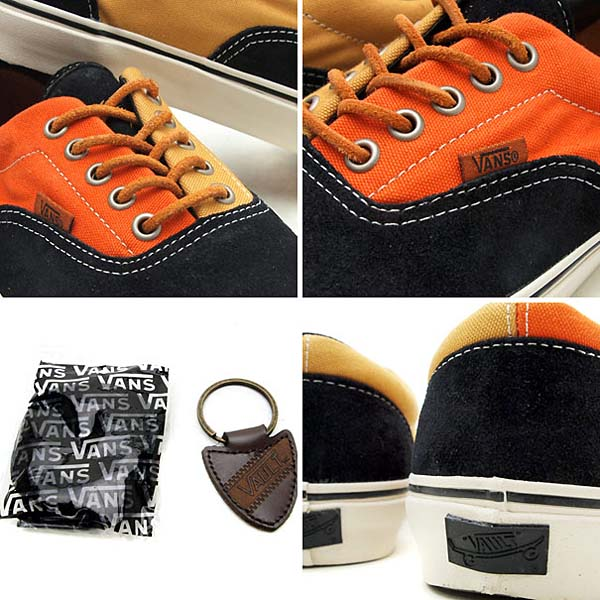 VANS VAULT ERA LX [BLACK/ORANGE] 0EXK5OF 写真1
