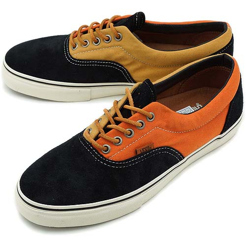 VANS VAULT ERA LX [BLACK/ORANGE] 0EXK5OF
