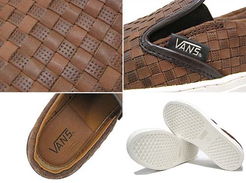 VANS SLIP ON NO.6 [Brown/Brown CHK2] V3060LXWV 写真2