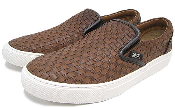 VANS SLIP ON NO.6 [Brown/Brown CHK2] V3060LXWV