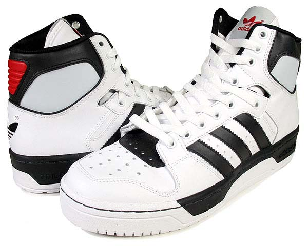 adidas CONDUCTOR HI [RUNWHITE/BLACK1/LIGHT SCARLET] 902394