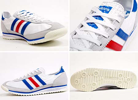 adidas SL72 [WHITE/SATELL/POPPY] G19299 写真1