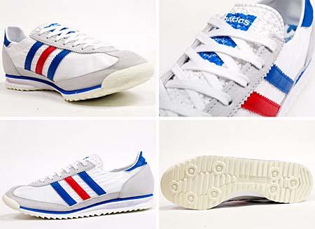adidas SL72 [WHITE/SATELL/POPPY] G19299 写真1