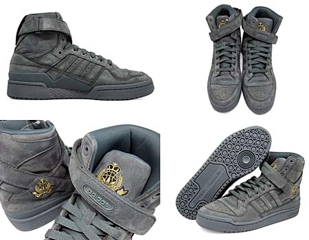 adidas ORIGINALS FORUM HI [HUSTLERS CREST|GRAY] G48074 写真1