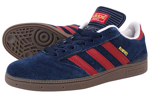 adidas SKATEBOARDING BUSENITZ PRO [COLLEGIATE NAVY/UNIVERSITY RED/GUM] G56361 写真1