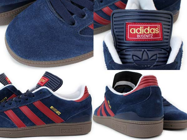 adidas SKATEBOARDING BUSENITZ PRO [COLLEGIATE NAVY/UNIVERSITY RED/GUM] G56361 写真2