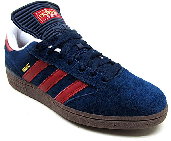adidas SKATEBOARDING BUSENITZ PRO [COLLEGIATE NAVY/UNIVERSITY RED/GUM] G56361