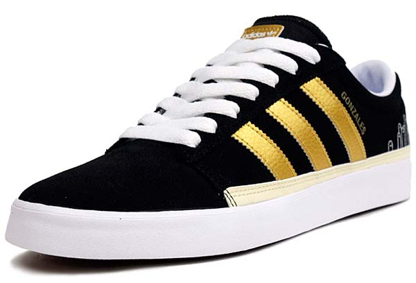 adidas RAYADO LOW [BLACK/METALLIC GOLD/BLUEBIRD] G56477 写真1