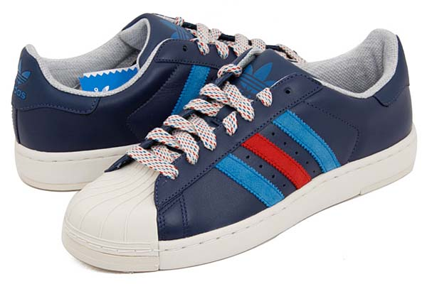 adidas SUPERSTAR 2 LITE [DARK INDIGO/UNIVERSITY RED/DARK ROYAL] G60532 写真1