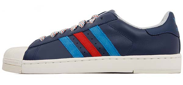 adidas SUPERSTAR 2 LITE [DARK INDIGO/UNIVERSITY RED/DARK ROYAL] G60532