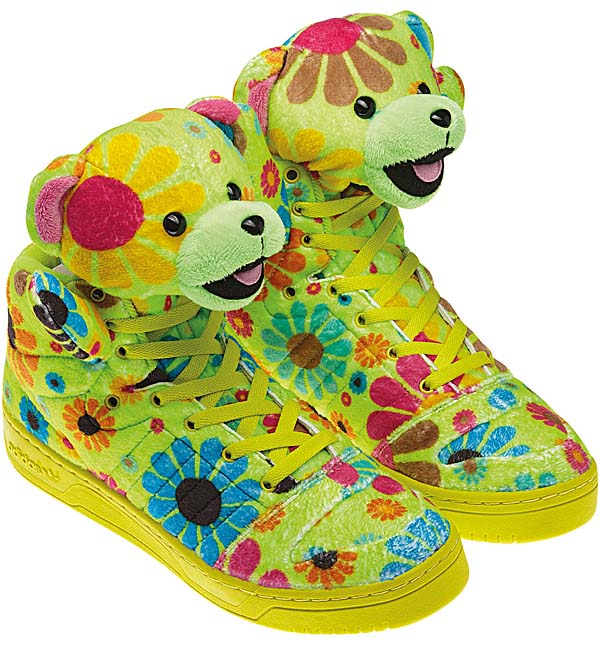 adidas OBYO JEREMY SCOTT TEDDY BEAR [FLOWER POWER] G61076 写真1