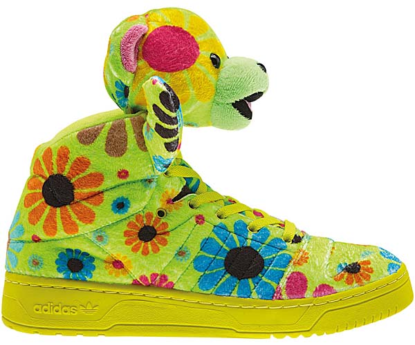 adidas OBYO JEREMY SCOTT TEDDY BEAR [FLOWER POWER] G61076 写真2