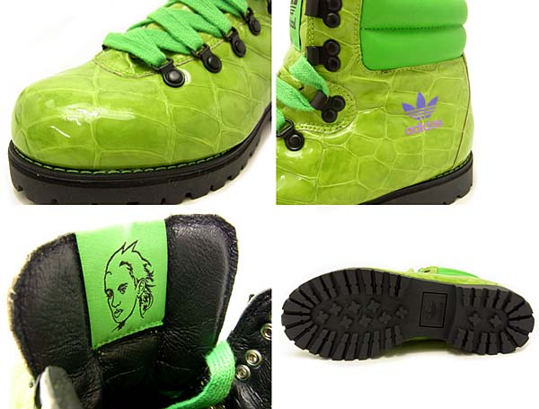 adidas OBYO JEREMY SCOTT JS HIKING BOOT [PANTON BLACK STIGOL] G61083 写真1