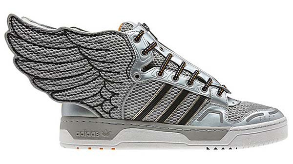 adidas OBYO Jeremy Scott JS WINGS 2.0 [METALLIC SILVER/BLACK] G61109 写真1