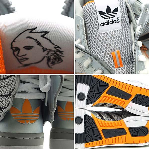 adidas OBYO Jeremy Scott JS WINGS 2.0 [METALLIC SILVER/BLACK] G61109 写真2