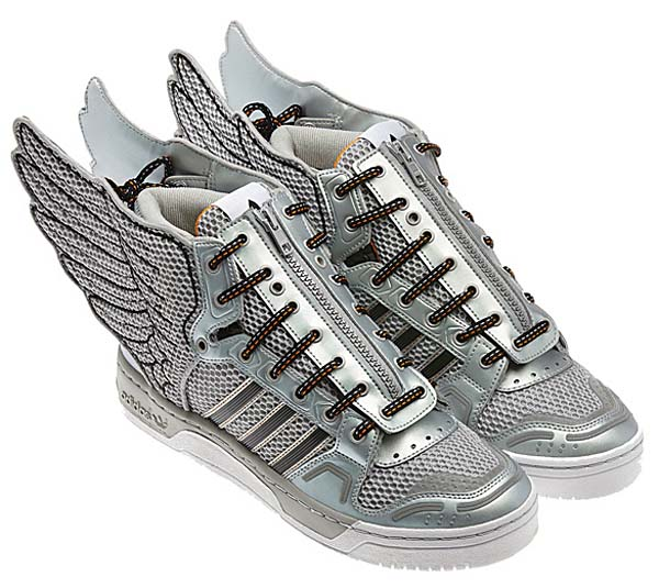 adidas OBYO Jeremy Scott JS WINGS 2.0 [METALLIC SILVER/BLACK] G61109