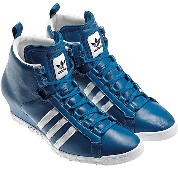 adidas Originals ROUND-IT WEDGE W [DARK ROYAL/BLACK/WHITE] G61138 写真1