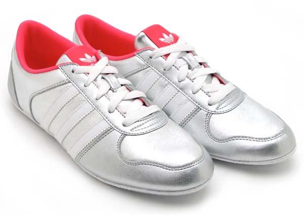adidas Originals O-Tec ADILINE W [METALLIC SILVER/SUPER PINK/WHITE] G62657 写真1