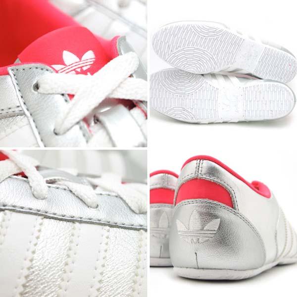 adidas Originals O-Tec ADILINE W [METALLIC SILVER/SUPER PINK/WHITE] G62657 写真2