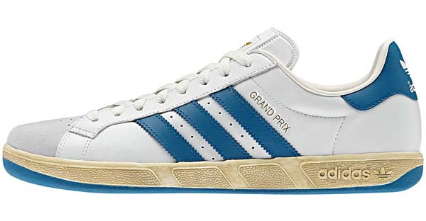 adidas GRAND PRIX VINTAGE [White/Metallic Gold/Royal] G62747