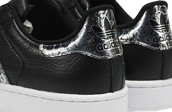 adidas SUPERSTAR 2 BLING [BLACK/METRIC SILVER/RUNWHITE] G62846 写真2
