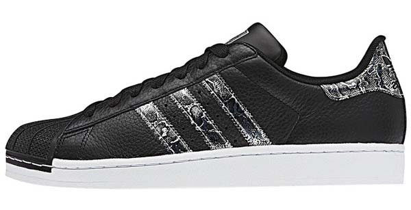 adidas SUPERSTAR 2 BLING [BLACK/METRIC SILVER/RUNWHITE] G62846