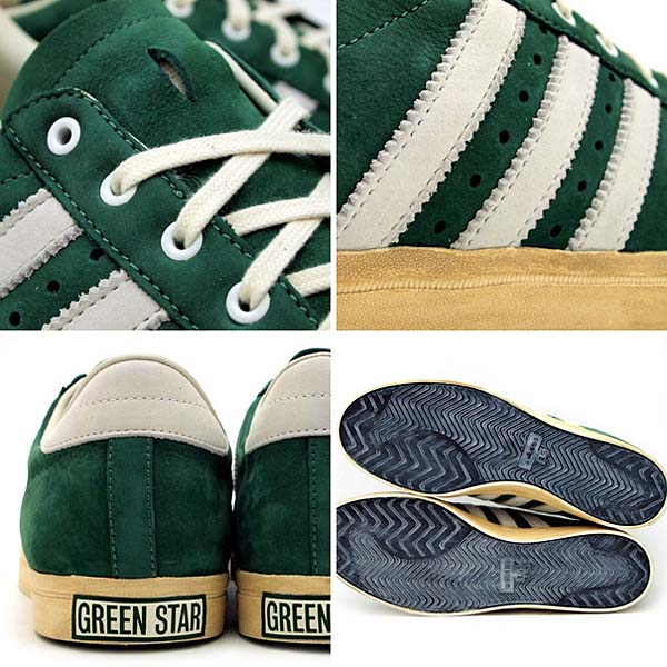 adidas GREEN STAR [GREEN/WHITE] G62944 写真2