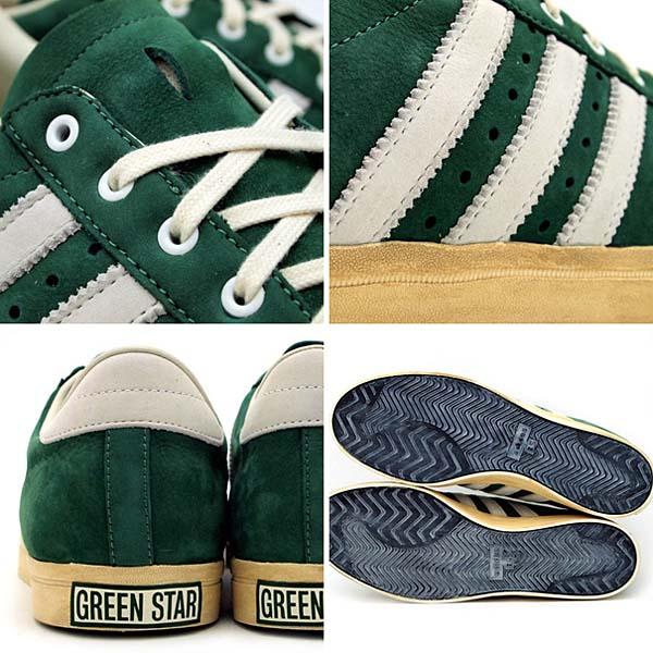 adidas GREEN STAR [GREEN/WHITE] G62944 写真2