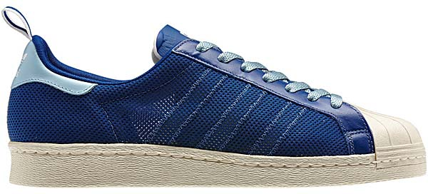 adidas ORIGINALS CLOT x Kazuki Kuraishi SUPERSTAR 80's [ROYAL/LIGHT BLUE] G63523 写真1