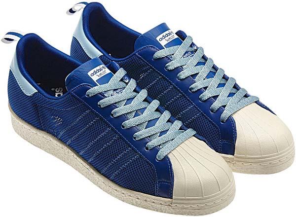adidas ORIGINALS CLOT x Kazuki Kuraishi SUPERSTAR 80's [ROYAL/LIGHT BLUE] G63523