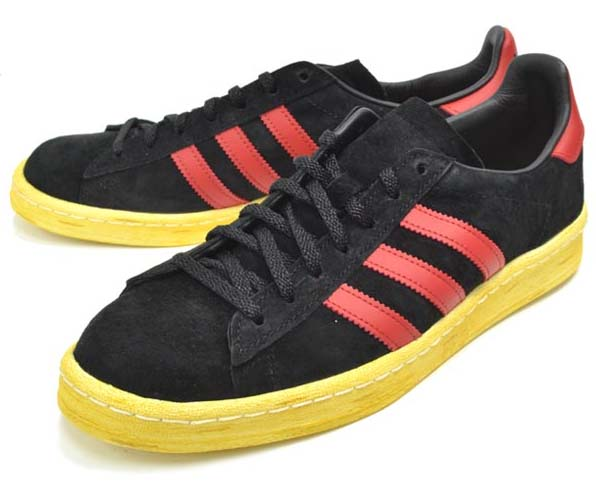 adidas ORIGINALS CAMPUS 80S MITA [BLACK/UNIVERSITY RED/CHALK2] G63525