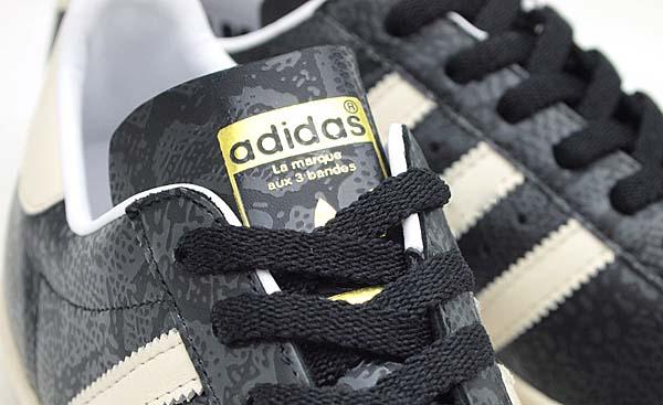 adidas Originals for atmos SS80s G-SNK 5 [BLACK/WHITE] G63669 写真2