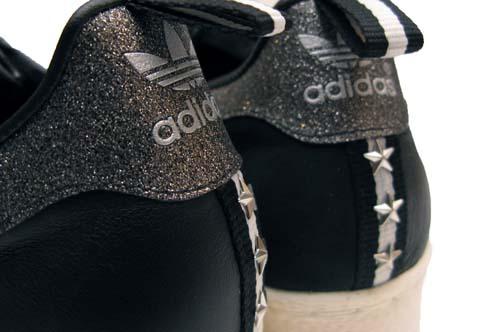 adidas Originals for Vanquish SS 80s [BLACK/WHITE] Q34600 写真4