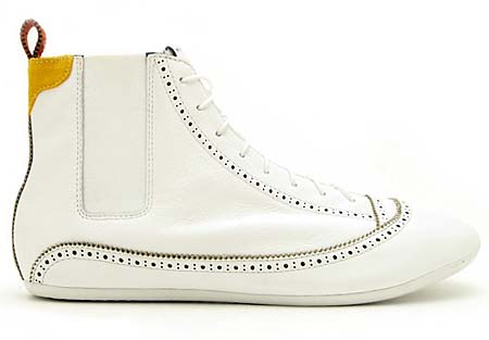 adidas EASY FIVE HI [WHITE] V21991 写真1