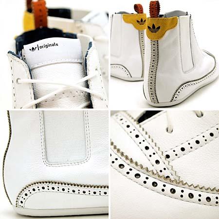 adidas EASY FIVE HI [WHITE] V21991 写真2