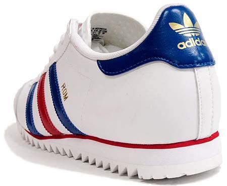 adidas ROM [WHITE/BLUE/SCARLETT] V22776 写真1