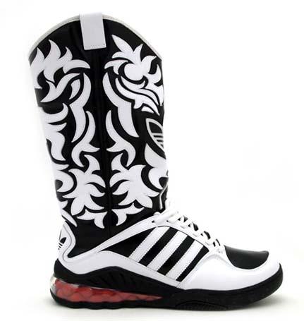 adidas Jeremy Scott JS MEGA SOFT CELL BOOTS [WHITE/BLACK] V22820 写真1