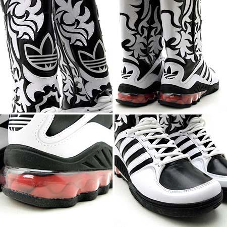 adidas Jeremy Scott JS MEGA SOFT CELL BOOTS [WHITE/BLACK] V22820 写真2