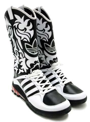 adidas Jeremy Scott JS MEGA SOFT CELL BOOTS [WHITE/BLACK] V22820